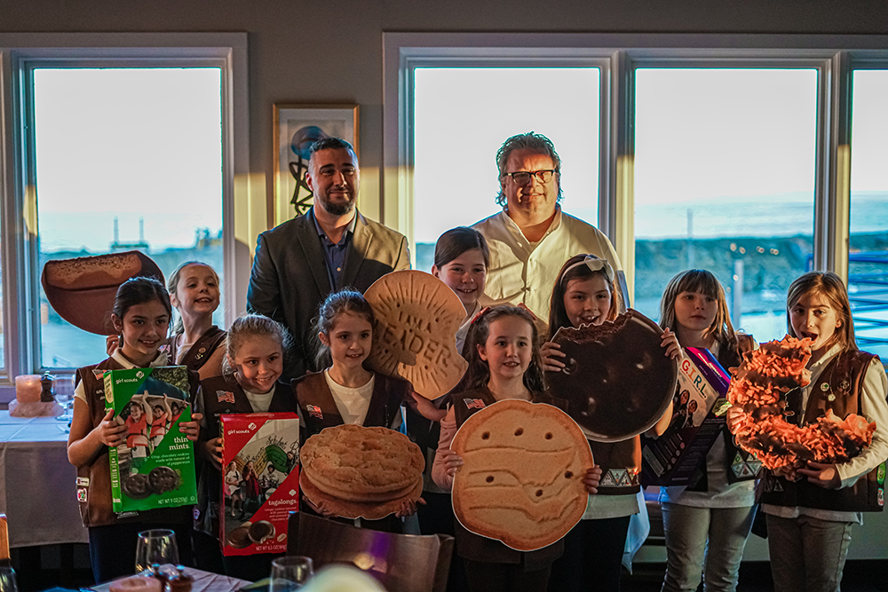 Chef David Burke and the Girl Scouts
