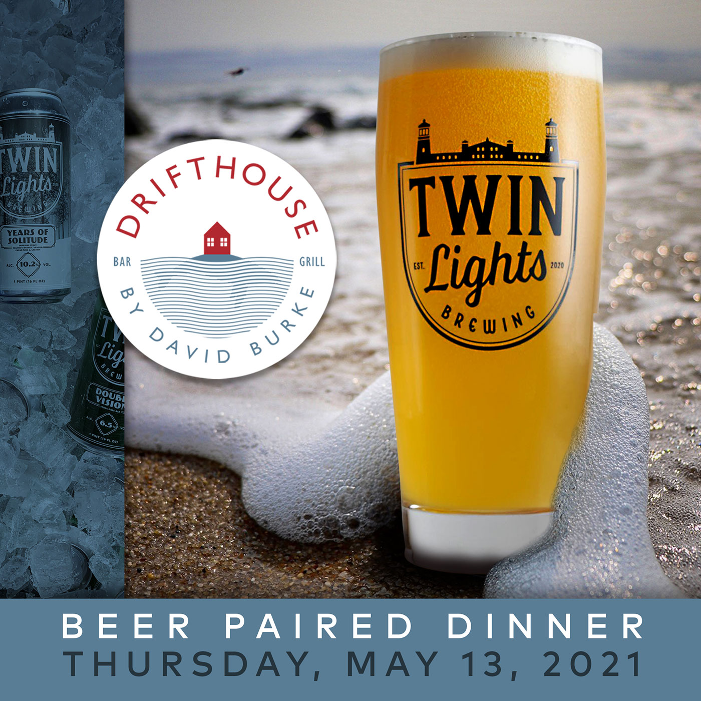 Drifthouse Twin Lights Beer Paired Dinner